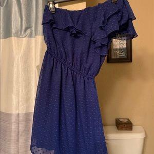 One shoulder Xhiliration dress